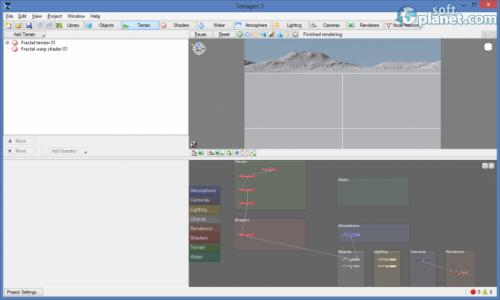 Terragen 3 Benchmark 3.1 Build 3.1.02.0