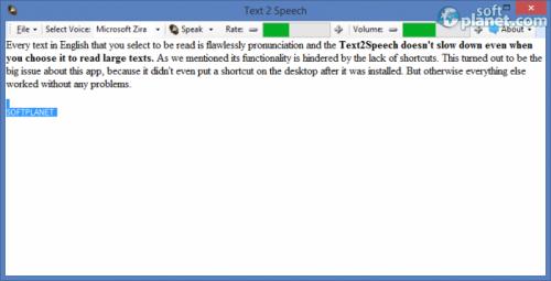 Text2Speech 1.0.2.4