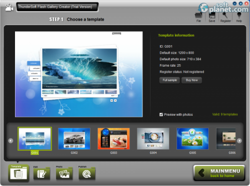 ThunderSoft Flash Gallery Creator 1.6.9.0