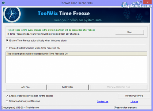ToolWiz Time Freeze 3.0.0.2000