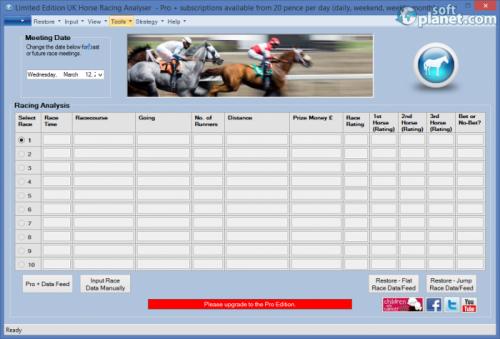 UK Horse Racing Analyser 1.2.3.1