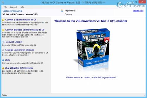 VB.NET to C# Converter 3.09