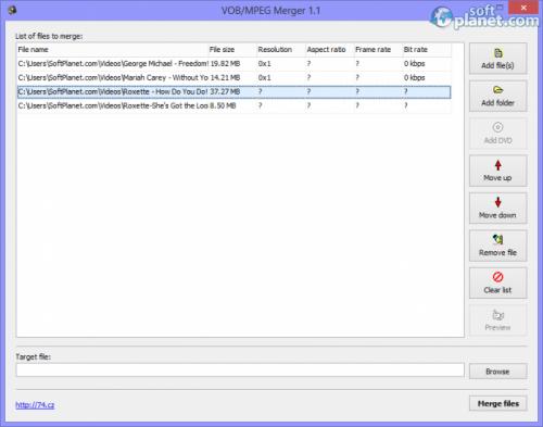 VOB/MPEG Merger 1.1.3.7
