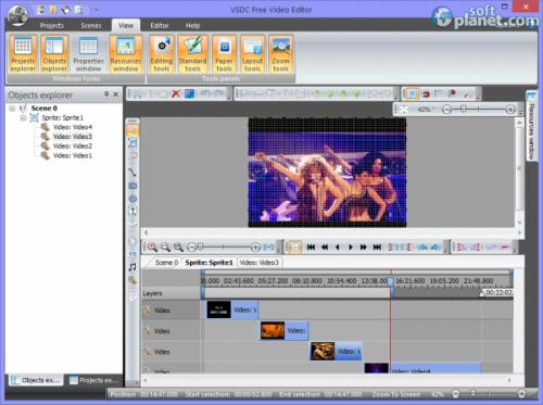 VSDC Free Video Editor 3.0.0.345