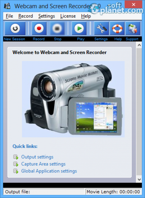 Webcam and Screen Recorder 7.0.0.0