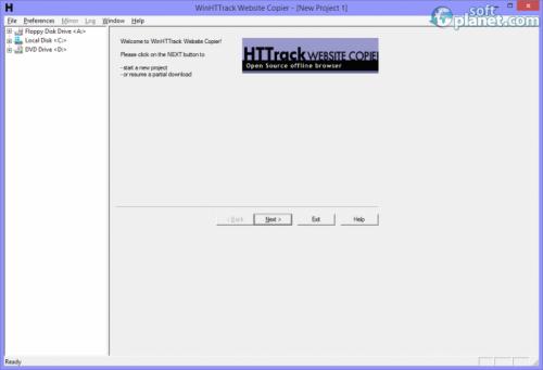 WinHTTrack Website Copier 3.48.21