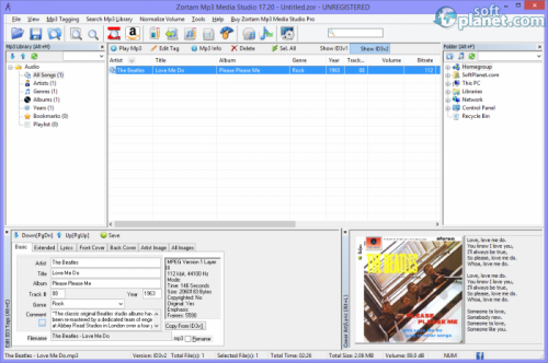 Zortam Mp3 Media Studio 17.30