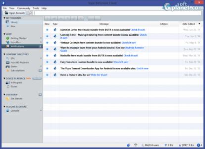 Vuze Bittorrent Client Screenshot5