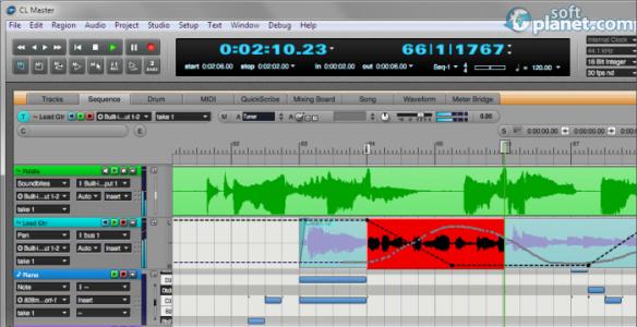 Digital Performer Screenshot2