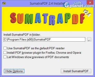 Sumatra PDF Screenshot4