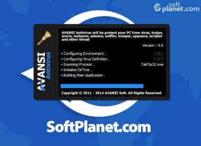 AVANSI Antivirus 2014 Screenshot2