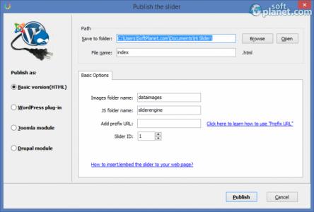 Hi Slider Personal Version Screenshot2