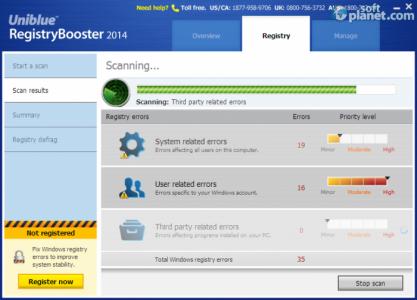 Registry Booster 2014 Screenshot2