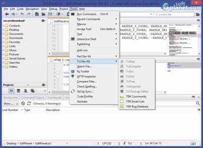 Komodo IDE Screenshot4