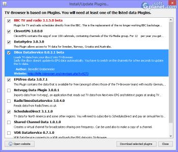 Portable TV-Browser Screenshot4