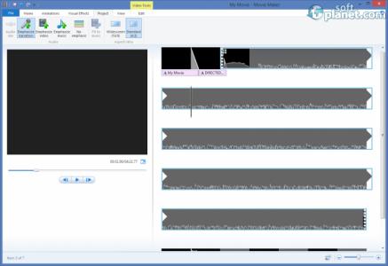 Windows Movie Maker Screenshot3