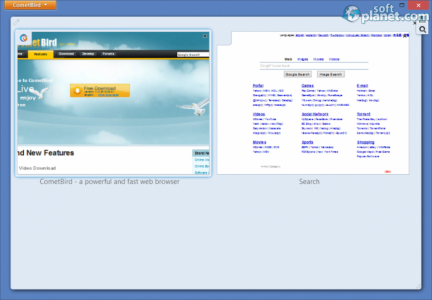 CometBird Screenshot3