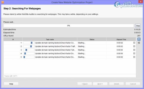 WebSite Auditor Screenshot2