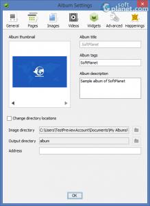 jAlbum Screenshot4