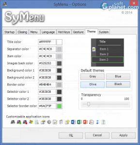 SyMenu Screenshot5