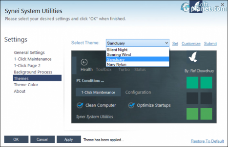 Synei System Utilities Screenshot4