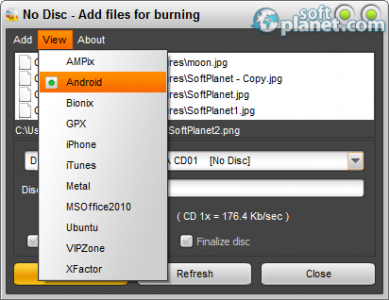 Easy Disc Burner Screenshot3