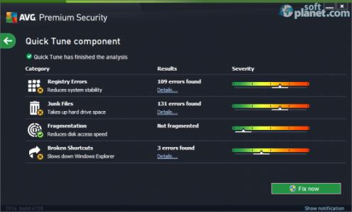 AVG Premium Security Screenshot3
