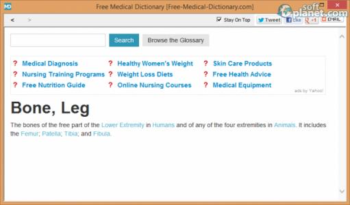 Free Medical Dictionary Screenshot2