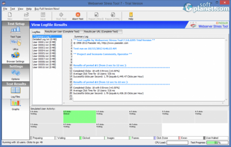 Webserver Stress Tool Screenshot3