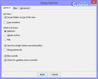 Zipeg Screenshot4