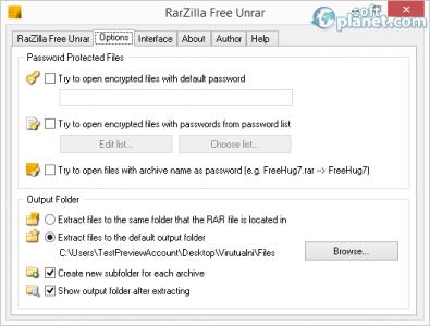 RarZilla Free Unrar Screenshot2