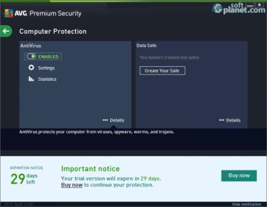 AVG Premium Security Screenshot2