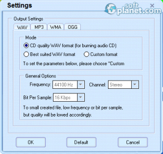Crystal Video To Audio Converter Screenshot2