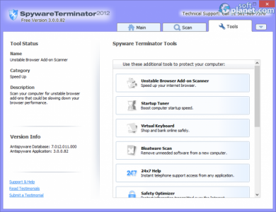 Spyware Terminator 2012 Screenshot3