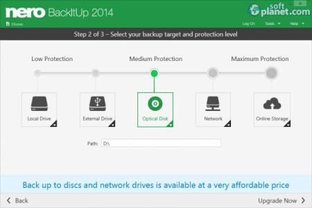 Nero BackItUp 2014 Screenshot3