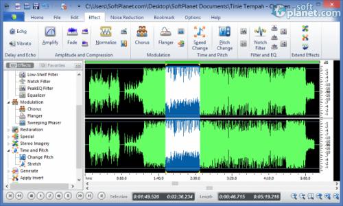 Power Sound Editor Free Screenshot4