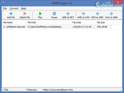 AMR Player Screenshot2