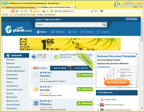 Avant Browser Screenshot2