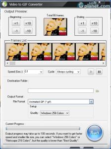 WonderFox Video to GIF Converter Screenshot2
