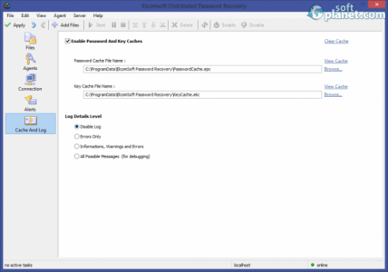 ElcomSoft Distributed Password Recovery Screenshot5