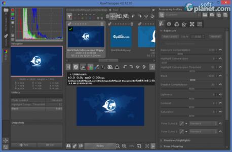 RawTherapee Screenshot2