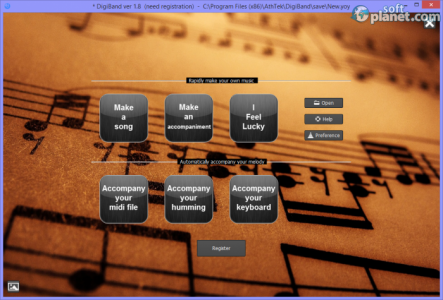 DigiBand Screenshot3