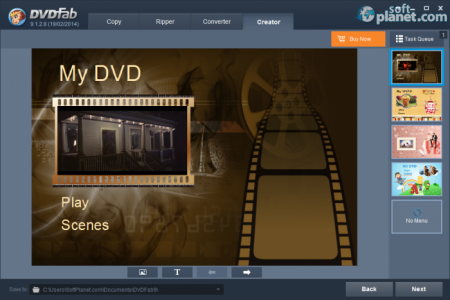 DVDFab DVD Creator Screenshot4