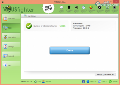 VIRUSfighter Screenshot5