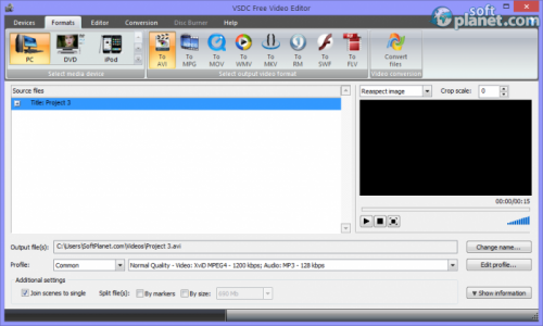 VSDC Free Video Editor Screenshot2