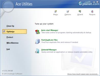 Ace Utilities Screenshot2