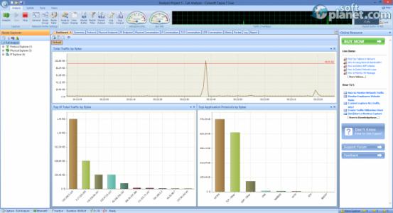 Capsa Network Analyzer Free Edition Screenshot2