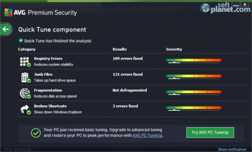 AVG Premium Security Screenshot4