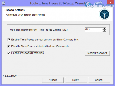 ToolWiz Time Freeze Screenshot2