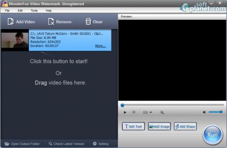 WonderFox Video Watermark Screenshot2
